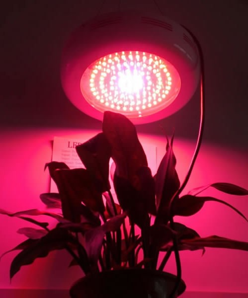 all red spectrum 90w ufo led grow lamp 1