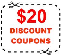 $20 discount coupons ledgrowlight.co.nz